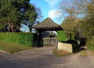 Charmouth Cemetery Lych Gate
