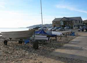 Boat Parking Charmouth